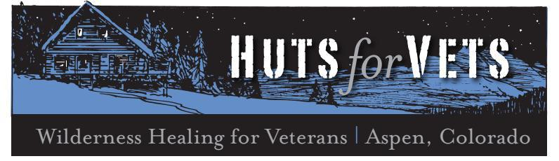 Huts for Vets